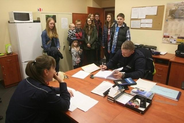 Komenda policji w Mysłowicach - dzień otwarty
