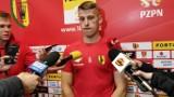 Fortuna 1 Liga. Jacek Podgórski, zawodnik Korony Kielce: Jeśli dołożymy skuteczność, to jesteśmy spokojni o dalsze wyniki (WIDEO)