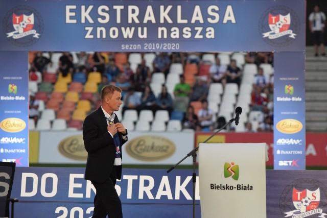 Bogdan Kłys, prezes Podbeskidzia