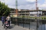 Bydgoszcz: po przerwie Nordic Haven przy ul. Grottgera znowu w budowie