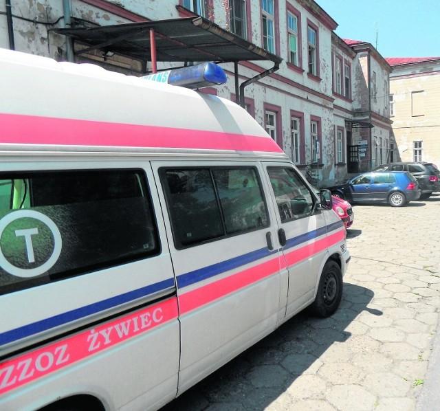 Chorą dziewczynkę przewieziono ze szpitala w żywcu do Bielska-Białej