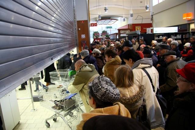 Otwarcie sklepu Auchan przy ul. Chodźki w Lublinie