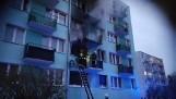 Tragiczny pożar we Włocławku - policja ustala przyczyny