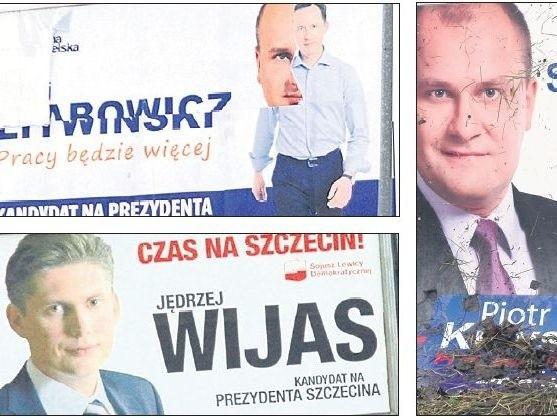 Podczas kampanii wyborczej w Szczecinie plakaty polityków można było zobaczyć niemal wszędzie. Okazuje się, że część z nich wieszano bez wymaganego pozwolenia