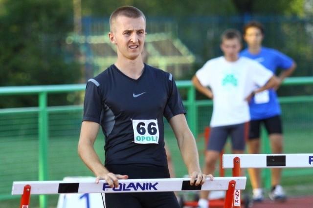 Płotkarz Michał Kula zdobył brązowy medal i pobił rekord życiowy na dystansie 60 metrów.