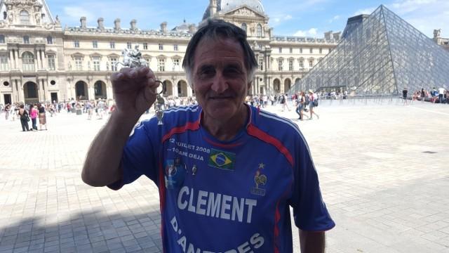 Clement Tomaszewski to najsłynniejszy kibic reprezentacji Francji