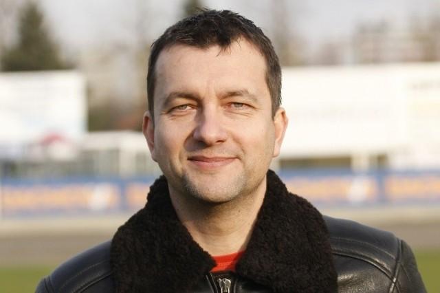 Jacek Szczepaniak prezesem piłkarskiej sekcji Stali Rzeszów jest już ponad 10 lat.