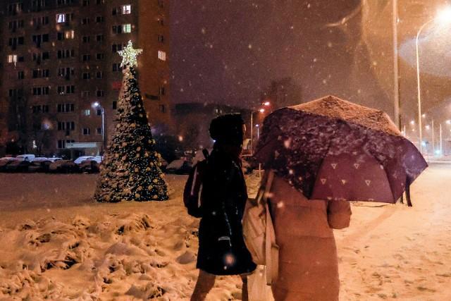 Synoptycy zapowiadają śnieżyce.