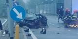 Wypadek śmiertelny w Jaworznie: Zginęła 28-letnia kobieta. Wjechała wprost pod TiRa ZDJĘCIA
