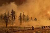 Ekstremalne pożary w Kalifornii i na zachodzie USA. Padł światowy rekord temperatury w Dolinie Śmierci?