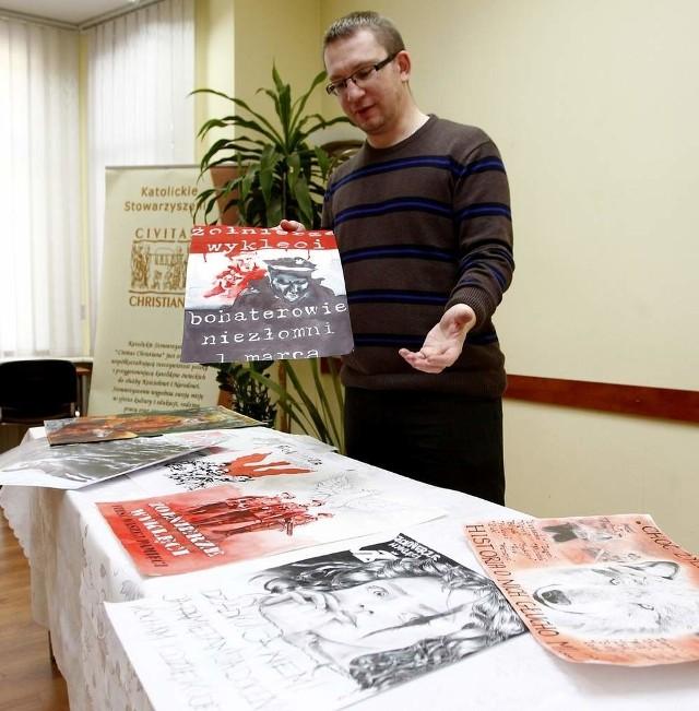 Bartłomiej Ilcewicz z Porozumienia Środowisk Patriotycznych, jeden z autorów pomysłu powstania w Szczecinie gwardii narodowej