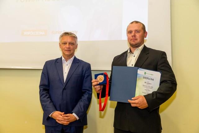 Grzegorz Skowroński na gali Mistrzowie Agro