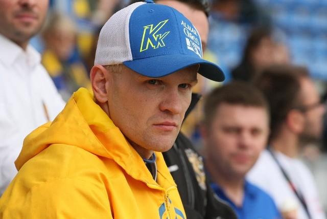 Krzysztof Kasprzak zamierza z pożytkiem wykorzystać ostatnie tygodnie tego sezonu