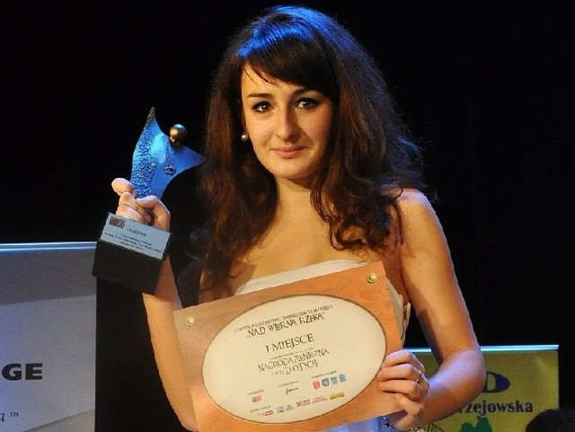Diana Ciecierska zajęła pierwsze miejsce w czwartej kategorii wiekowej.