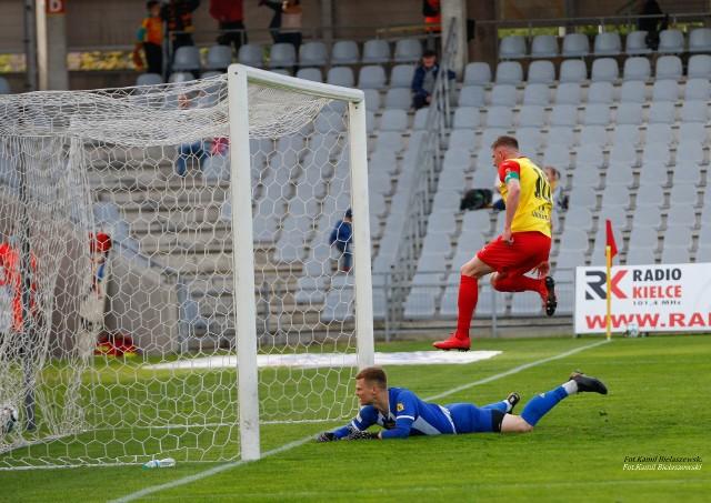 Korona Kielce pokonała GKS Bełchatów 3:0.