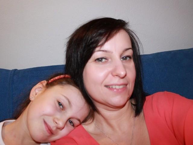 Hanna Tucholska z córką