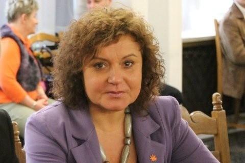 Na zdjęciu Małgorzata Marcinkiewicz.
