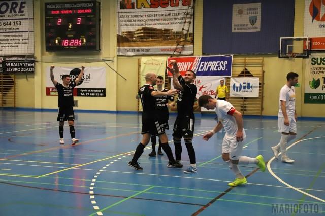 Hat-trick Mateusza Suchodolskiego nie zapewnił Berlandowi trzech punktów w meczu z Futsalem Nowiny.