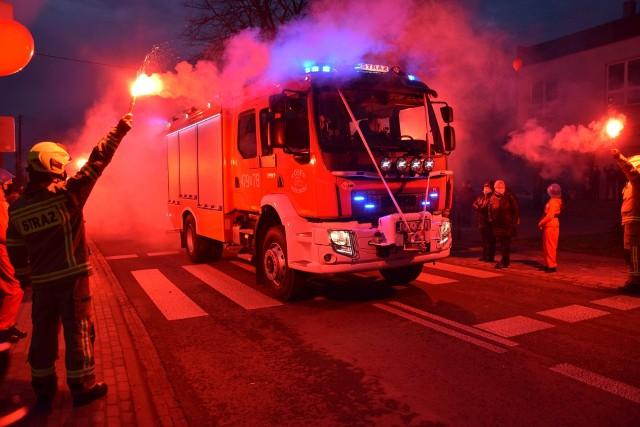 Powitanie nowego wozu strażackiego w OSP Przedmość.