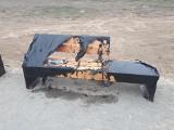 Próba podpalenia ławek na górkach czechowskich w Lublinie. Spółka TBV wydała oświadczenie