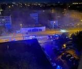 Pożar mieszkania przy ulicy Chrobrego w Radomiu. Jedna osoba trafiła do szpitala