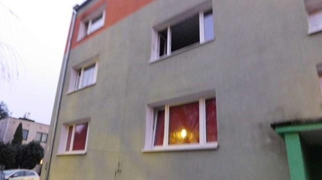 Pożar wybuchł w tym budynku przy ul. Lutyckiej