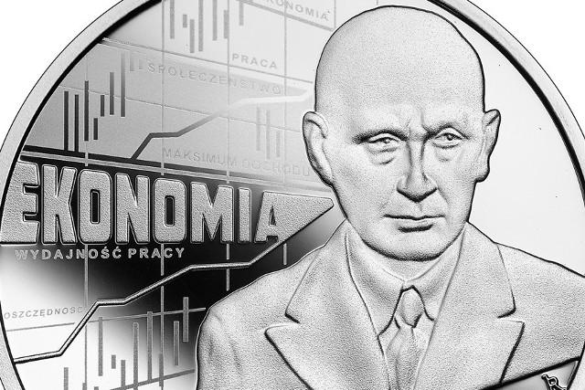 """25 marca w serii """"Wielcy polscy ekonomiści"""" ukazała się kolejna moneta przypominająca niezwykłą krakowską postać ze świata ekonomii - Adama Heydla"""