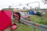 Tragiczny wypadek w Sławkowie na DK94. Zginęły dwie osoby. 11-latka ranna. Kierowca BMW X5 uderzył w toyotę yaris