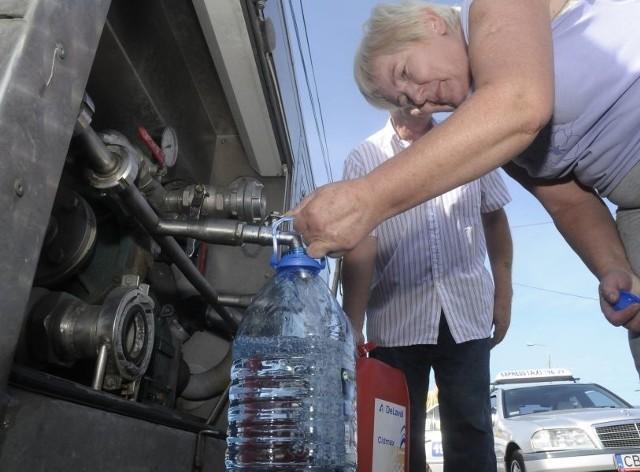 Teraz mieszkańcy Łochowa i okolic nie muszą już chodzić po wodę do beczkowozów.