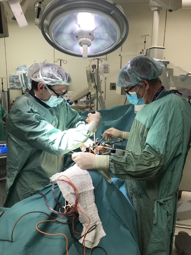 Nowa metoda leczenia kręgosłupa