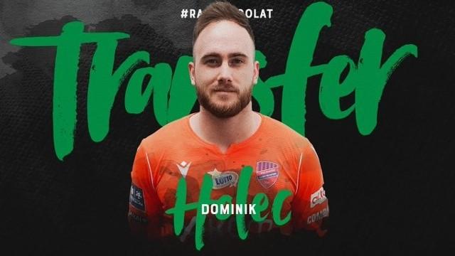 Dominik Holec został wypożyczony do Rakowa ze Sparty Praga