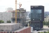 Najwyższy biurowiec Katowic, KTW II jest już wysoki na 50 m. Będzie miał 133 metry. Powstaje przy Spodku i rondzie, to inwestycja TDJ Estate