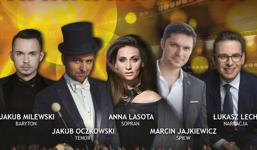Gwiazdy karnawałowego koncertu operetkowego i wodewilowego