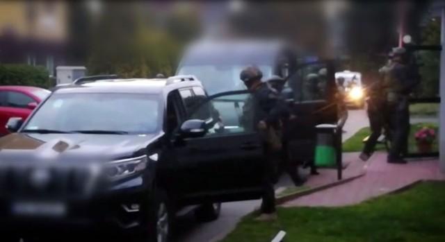 Białostoccy policjanci rozbili warszawski gang handlujący narkotykami