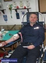 Policjanci z Wrocławia oddali 15 litrów krwi