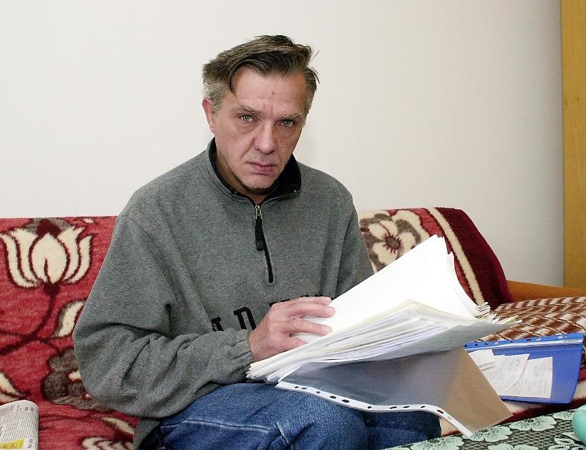 Bogdan Wojciechowski ma dwa wyroki i żadnego mieszkania.