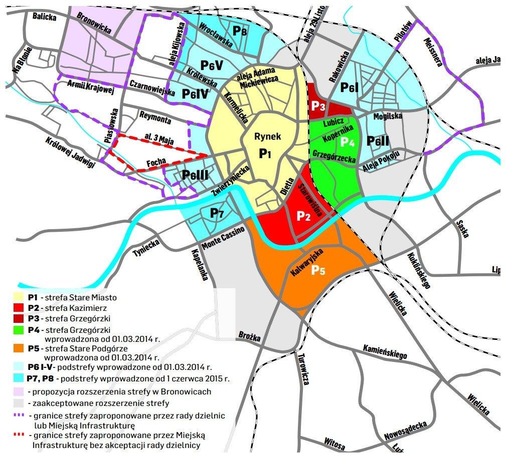 Wielkie Poszerzenie Strefy Platnego Parkowania Mapa Lista Zmian