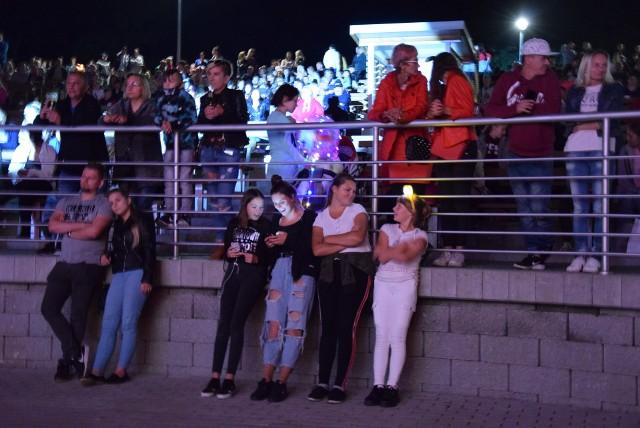 28 sierpnia na scenie amfiteatru w Wąbrzeźnie zagrały zespoły Żuki i Mejk