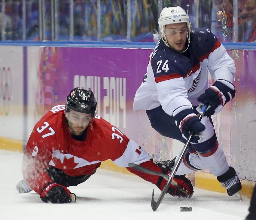 Soczi 2014: Hokej USA - Kanada 0:1 [RELACJA,ZDJĘCIA] Kanadyjczycy znów zagrają o złoto