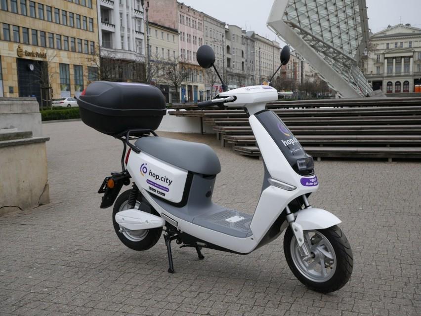 Skutery elektryczne Hop.City w Opolu będą dostępne od...