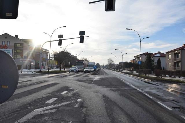 Przebudowa obwodnicy obejmuje 5-kilometrowy odcinek drogi od ul. 1 Maja do wylotu w kierunku Szczebrzeszyna