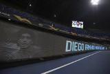 Neapol żegna Diego Maradonę podczas meczu Ligi Europy Napoli z Rijeką. Wyjątkowe zdjęcia i filmy