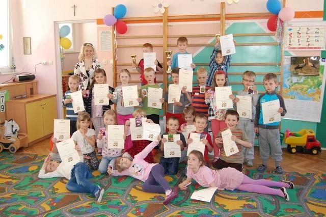 """I Turniej Szachowy o Puchar Dyrektora Przedszkola """"Słoneczne Stacyjkowo"""" w Bytowie"""