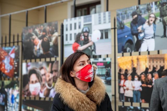 Zatrzymaj się na chwilę na Rynku Kościuszki. Zobacz jak rodziły się protesty na Białorusi. To twarze naszych sąsiadów