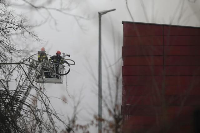 Strażacy kilka dni gasili pożar archiwum urzędu miasta w Krakowie