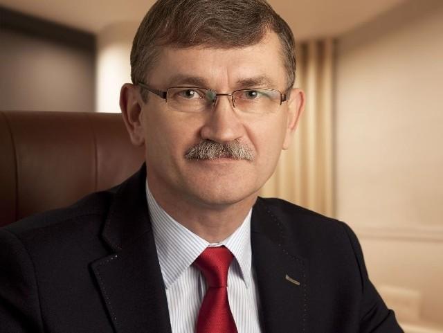 """Michał Mius, nowy prezes Wytwórczej Spółdzielni Pracy """"Społem"""" w Kielcach zapowiada rozwój firmy, umocnienie jej pozytywnego wizerunku i nie wyklucza poszerzenia oferty produktów."""