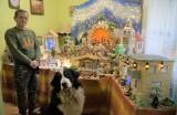 Gniewkowo. Bożonarodzeniowa szopka Jana Kranca z Gniewkowa zajmuje prawie cały pokój. Zdjęcia