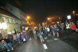 Blokada Leśnicy. Mieszkańcy domagają się budowy obwodnicy [ZDJĘCIA]