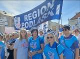 """Protest pracowników służby zdrowia. Podlascy medycy o manifestacji w Warszawie: """"Maszerowaliśmy jako jeden zespół i czuliśmy jedność"""""""
