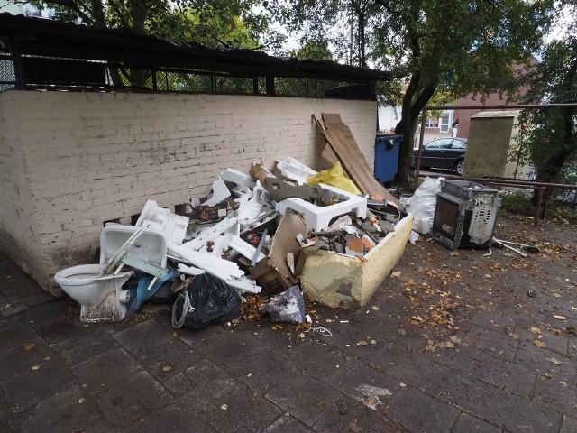 Problem śmieciowy w Koszalinie narasta